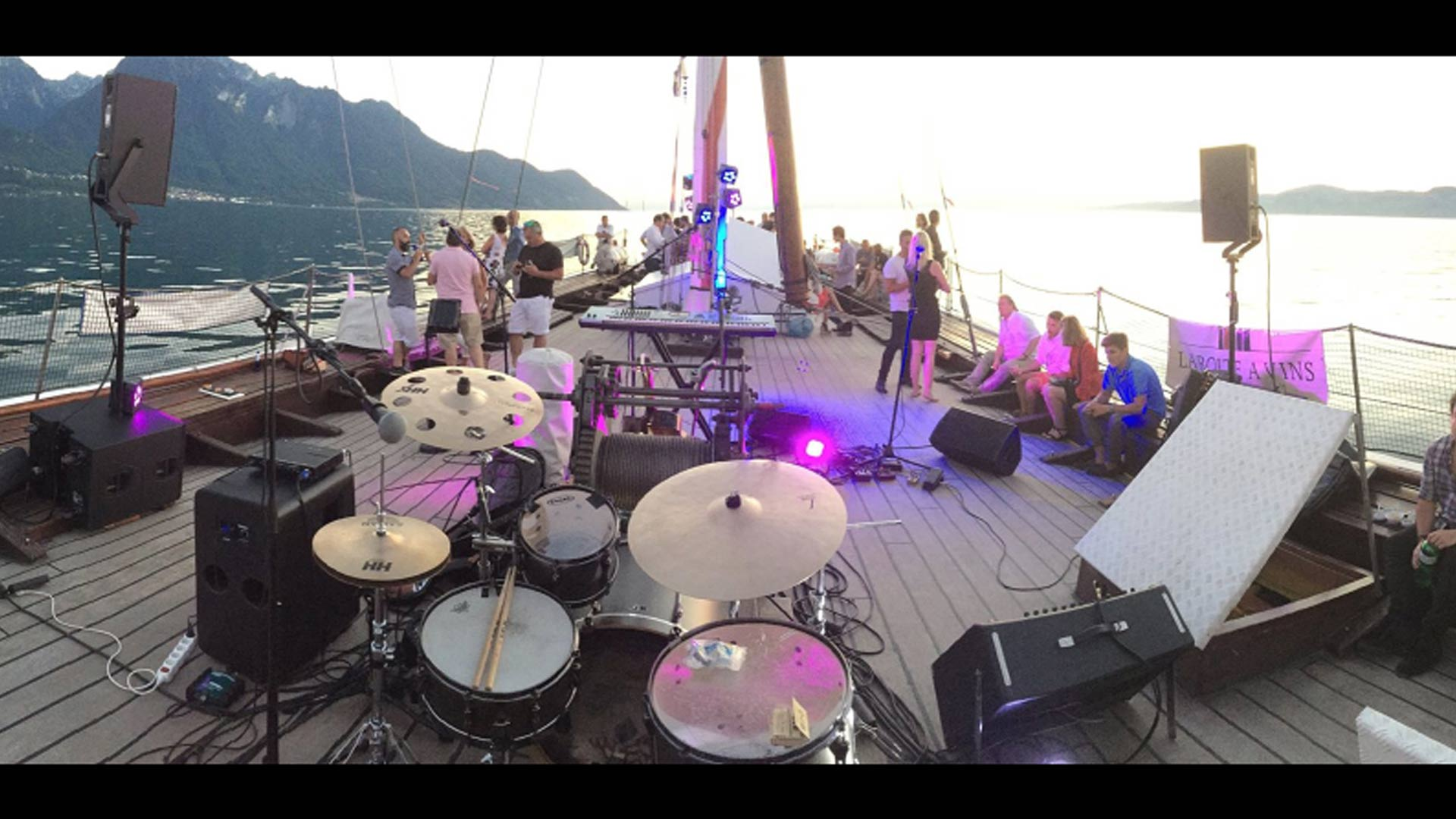 Live On The Lake - Montreux, Villeneuve - Privilege Events